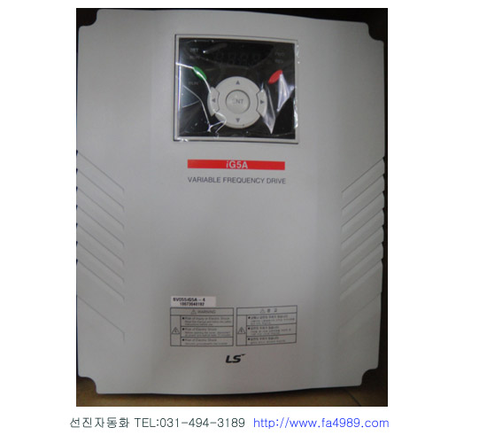 [LS산전]SV055iG5A-4 (미사용신품)380/440v5.5kw7.5hp